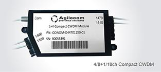 Agilecom Puts CCWDM into Mass Production in 2017